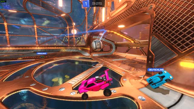 Watch and share Sickest Shot Ever GIFs and Rocket League GIFs by tehzell on Gfycat