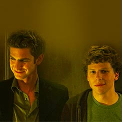 Watch and share Andrew Garfield GIFs and Jesse Eisenberg GIFs on Gfycat