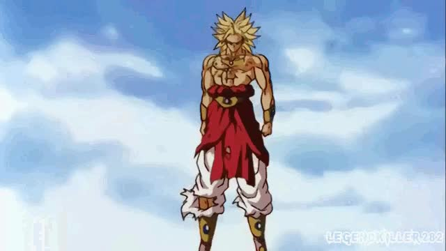 Watch and share Broly GIFs on Gfycat