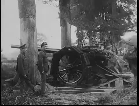 Watch and share Artillery In World War I GIFs on Gfycat