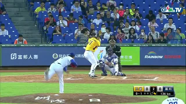 Watch and share Hit By Broken Bat GIFs and Cpbl Stats GIFs on Gfycat