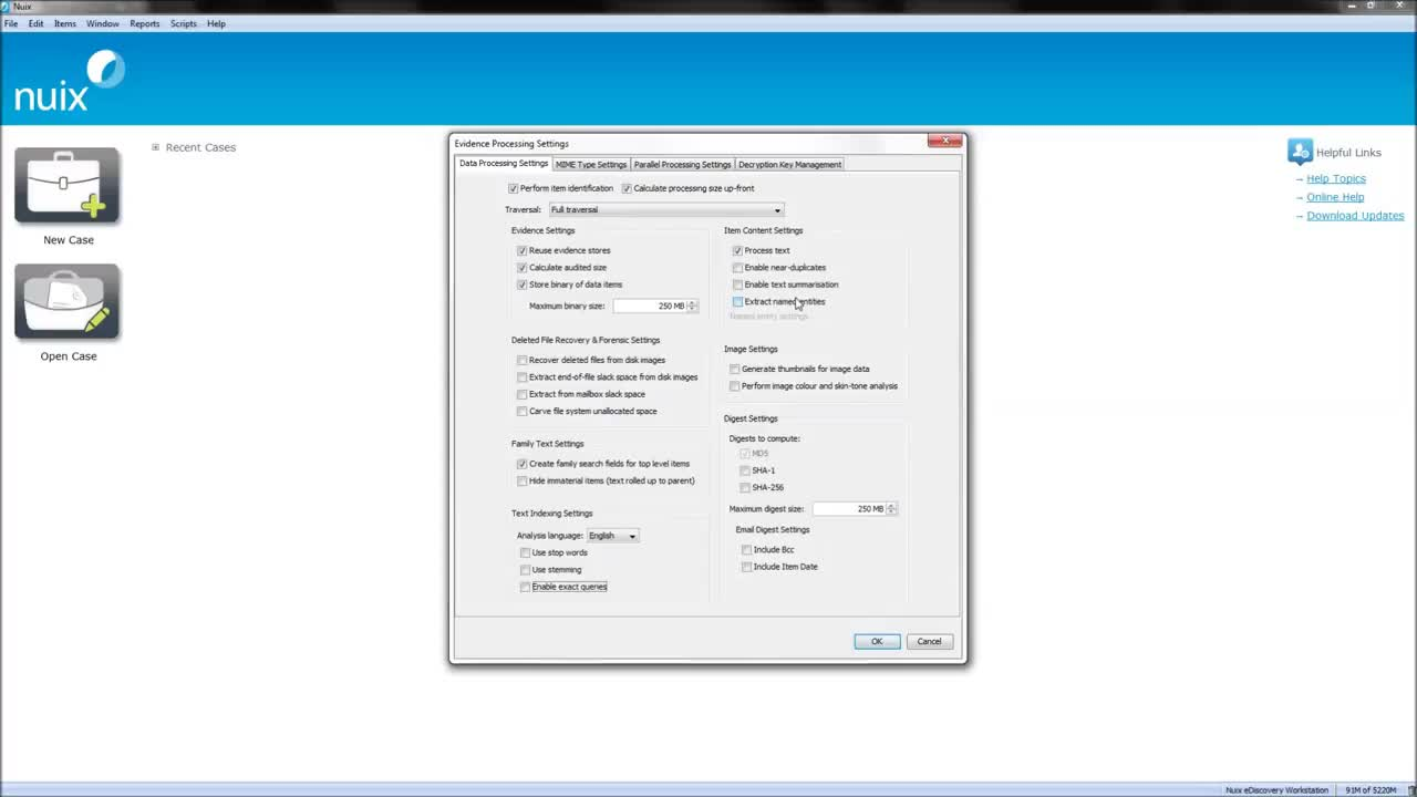 Advanced Processing Options GIFs