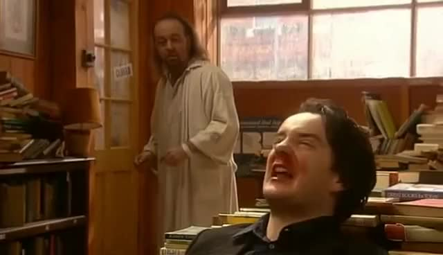 Watch Black Books S01E01 - Cooking the Books GIF on Gfycat. Discover more related GIFs on Gfycat