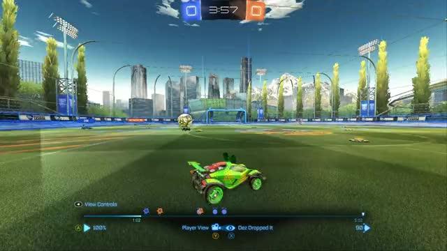 Watch and share Rocket League GIFs by iamyorick on Gfycat