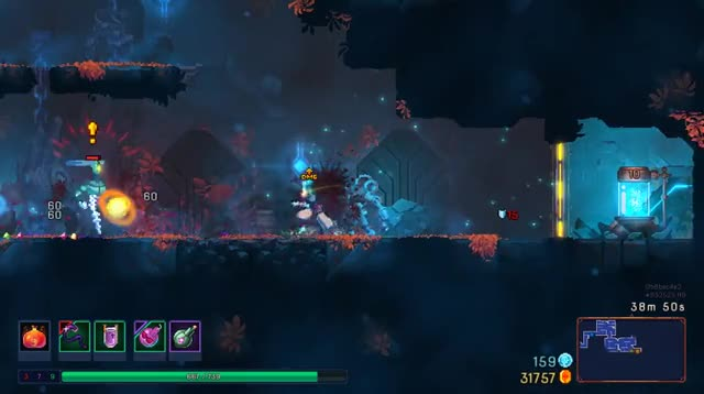 Watch and share Dead Cells: Fighting An Orb Caster GIFs on Gfycat
