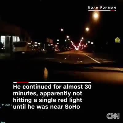 Giấc mơ đi đường là đây: 30 phút, qua 236 trụ đèn giao thông mà không phải dừng lại lần nào