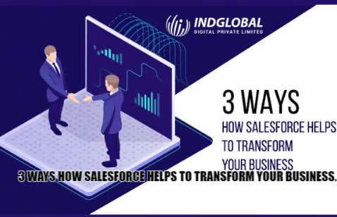 Watch 3 Ways How Salesforce Helps to Transform your Business. GIF by Indglobal Digital Private Limi (@indglobal) on Gfycat. Discover more related GIFs on Gfycat