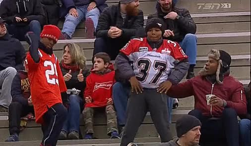 Watch and share Marc Calixte GIFs and Stampeders GIFs by Archley on Gfycat