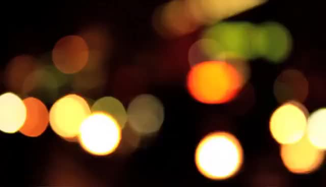 Smooth Bokeh Lights Free Hd Stock Video Gif Gfycat