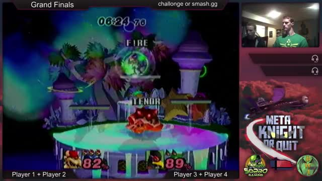 Watch and share Bowser Reverse Fair Edgeguard GIFs by flashingfire on Gfycat