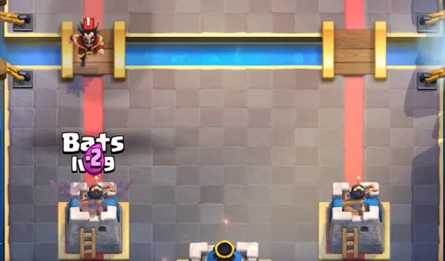 Watch and share Bats Vs Electro Wizard GIFs by Clash World on Gfycat