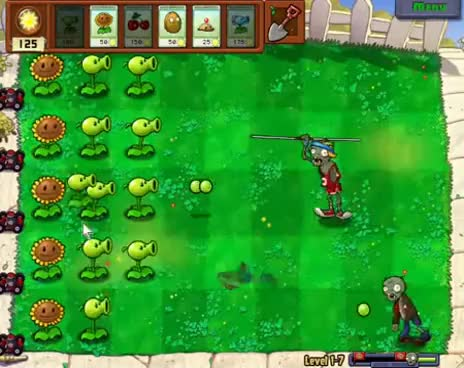 Watch and share Plants Vs Zombies Gameplay GIFs on Gfycat