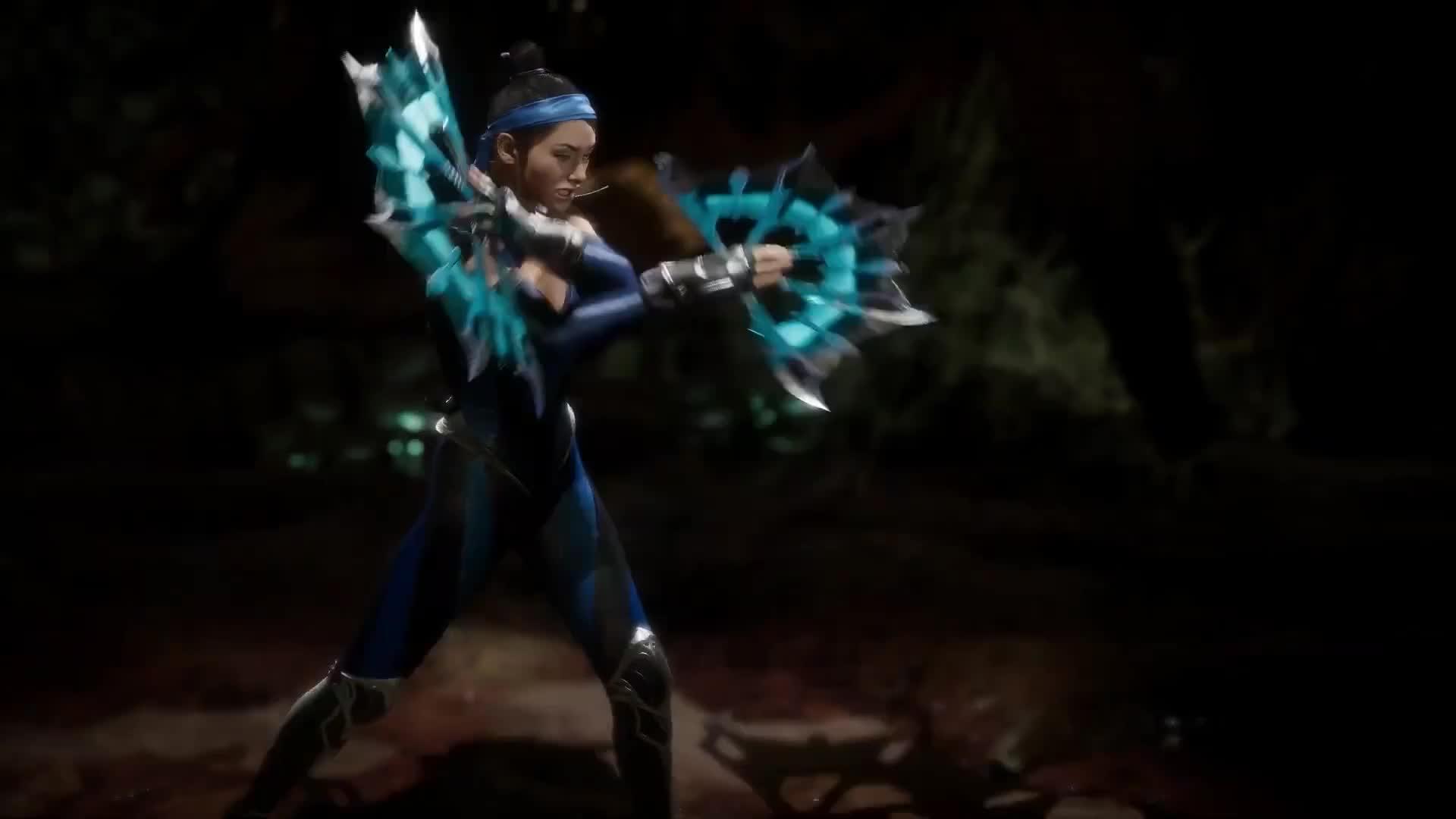 Fatality, Kitana, MK11, Mortal Kombat 11, MK11 Kitana's Fatality GIFs