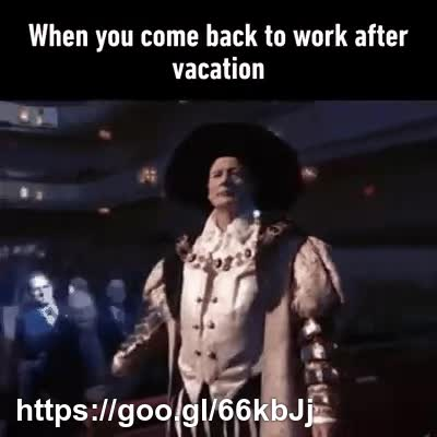When you come back to work after vacation GIFs