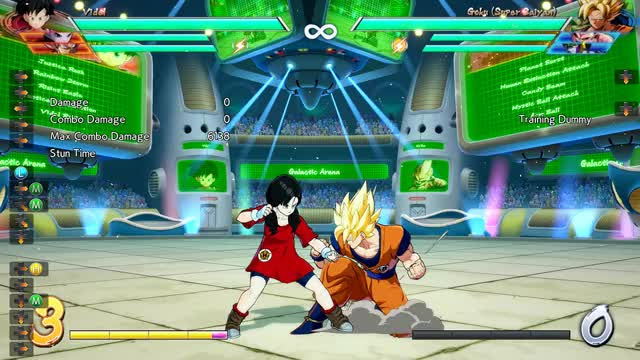 Watch and share Videl Crossup Vanish Route GIFs by abe on Gfycat