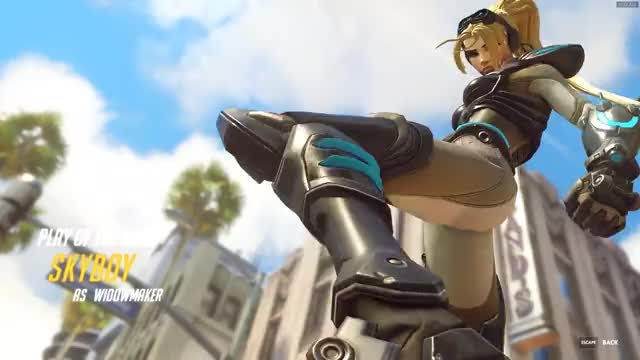 Watch and share Widowmaker GIFs and Overwatch GIFs by skyboy on Gfycat