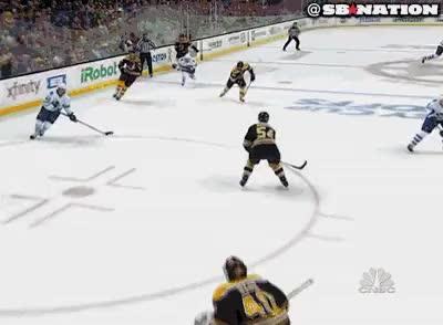 Watch and share Rask Save Amazing Hockey Save Gifs GIFs on Gfycat