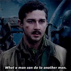 Watch Shia LaBeouf GIF on Gfycat. Discover more boyd swan, films, fury, furygif*, logan lerman, shia labeouf GIFs on Gfycat