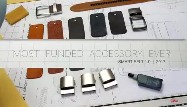 Watch Belt GIF on Gfycat. Discover more 2018, KickStarter, belt, budget, gadget, gadgets GIFs on Gfycat