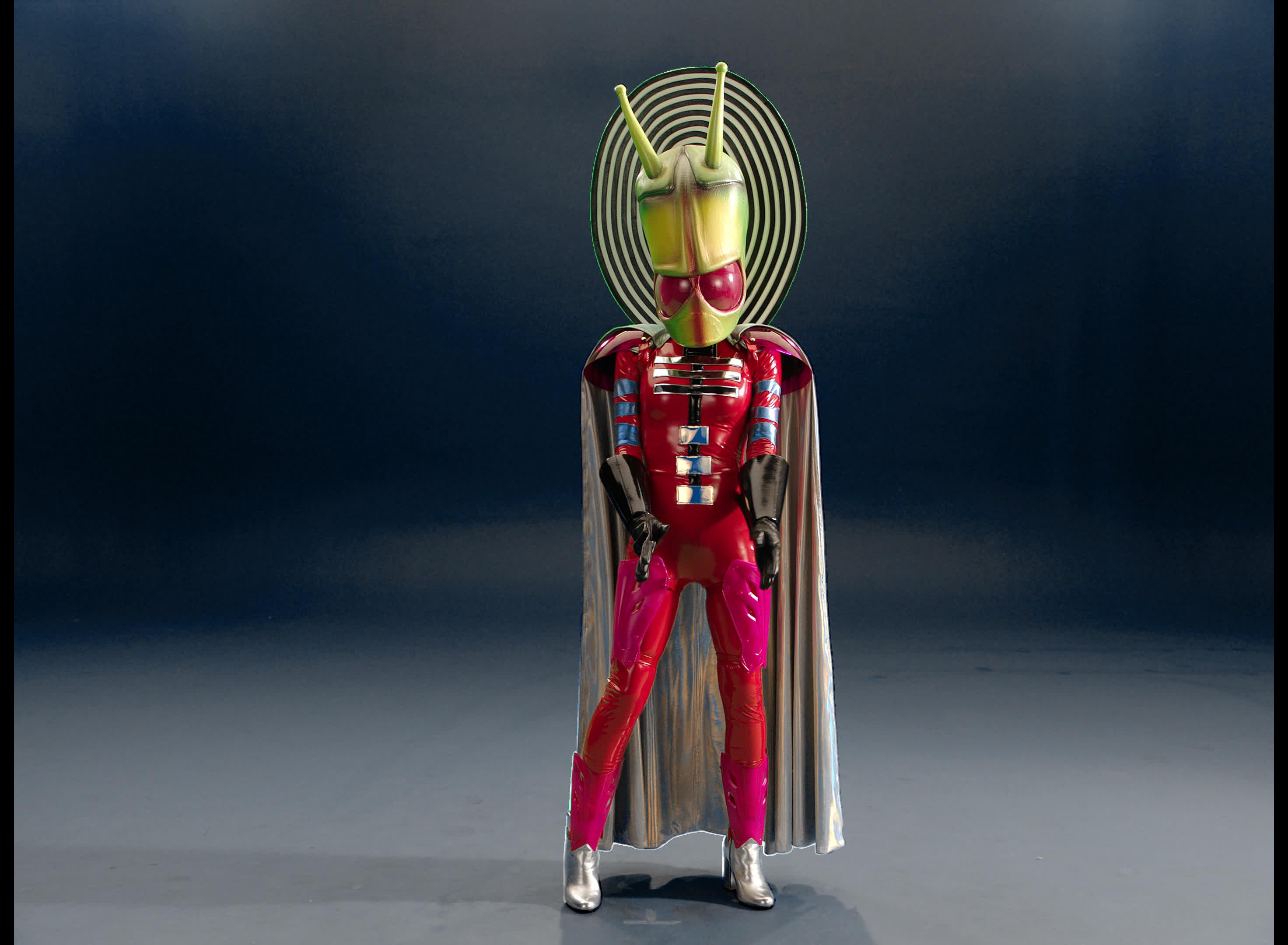 alien, masked singer, pose, posing, the masked singer, the masked singer on fox, Alien Posing GIFs