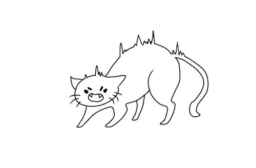 Watch gRRR GIF on Gfycat. Discover more animation, artists on tumblr, cat, doodle, gif, kitty, muff, my animation, oc, original character, sahco GIFs on Gfycat