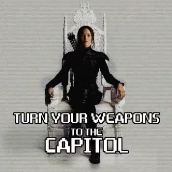 Watch TONIGHT GIF on Gfycat. Discover more Capitol, Distric12, Distric13, Fire, Katniss Everdeen, Message, Mockingjay, Part2, Primrose Everdeen, Rebels, Weapons, effie trinket, mj2, mj2edit, panem, peeta mellark, trailer GIFs on Gfycat