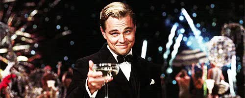 Watch and share Leonardo Dicaprio GIFs and Congrats GIFs by Reactions on Gfycat
