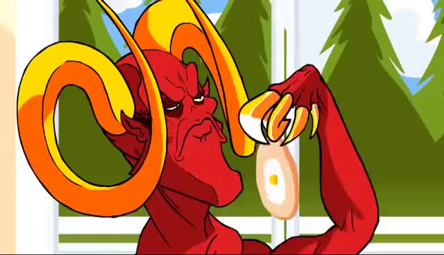 Watch and share Pancake GIFs and Satan GIFs on Gfycat