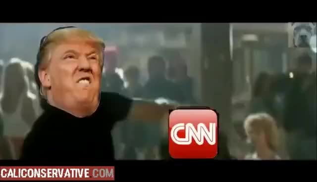 Trump Roadhouses CNN for Doxxing.