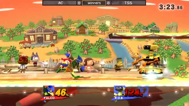 2GGT: FOW Saga - AC (Falco) Vs. TSS (R.O.B) Winners Side - Smash Wii U