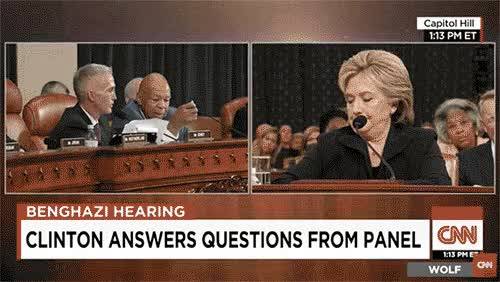Watch and share Hillary Clinton GIFs and Expressions GIFs by Danno on Gfycat