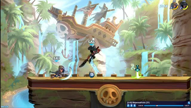 Watch and share Brawlhalla GIFs and Scythe GIFs by skibuster on Gfycat