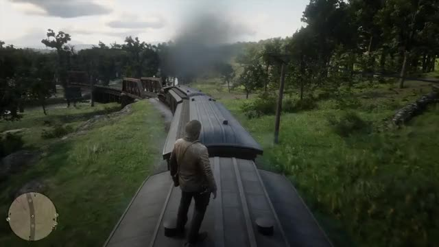 Watch Enjoying the free ride.... PS4share RedDeadRedemption2 - - GIF on Gfycat. Discover more related GIFs on Gfycat