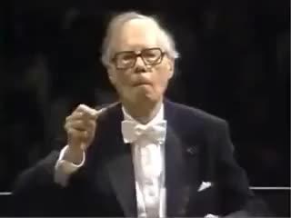 Watch and share Маэстро Karl Böhm, 7-я Бетховена. Валторнисты, Кто Же Ещё. GIFs on Gfycat
