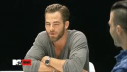 Watch and share Wordplay As Foreplay Zachary Quinto Gif GIFs on Gfycat