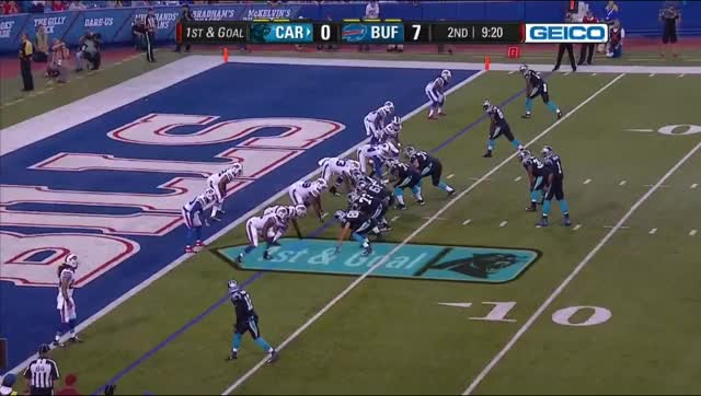 Watch and share Q2 - Kelvin Benjamin Leaping TD GIFs by biggin528 on Gfycat
