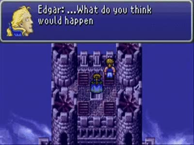 Watch and share Final Fantasy VI: Edgar And Sabin's Coin Toss GIFs on Gfycat