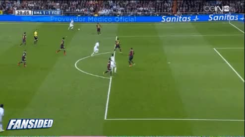Watch and share El Clasico: Benzema's First Goal GIFs by mikedyce on Gfycat