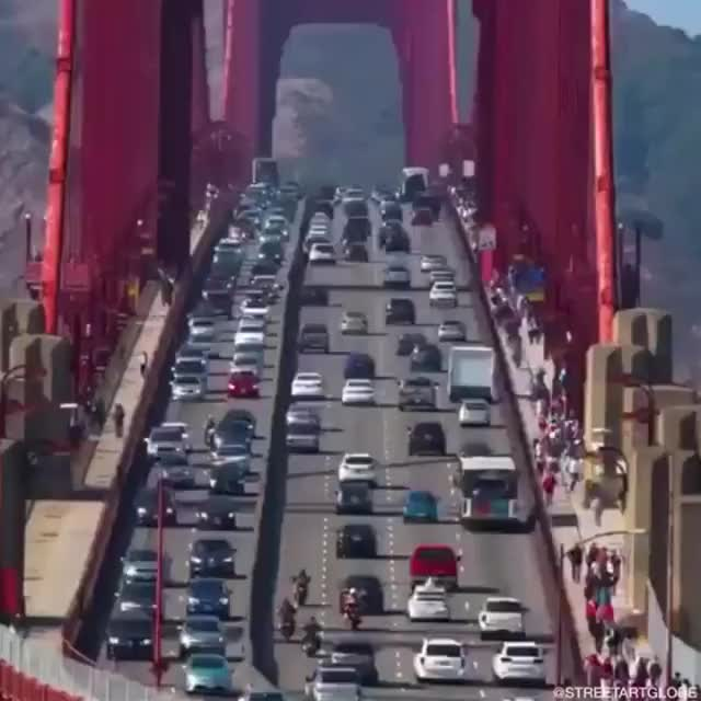 Watch and share Lane Change In San Francisco GIFs on Gfycat