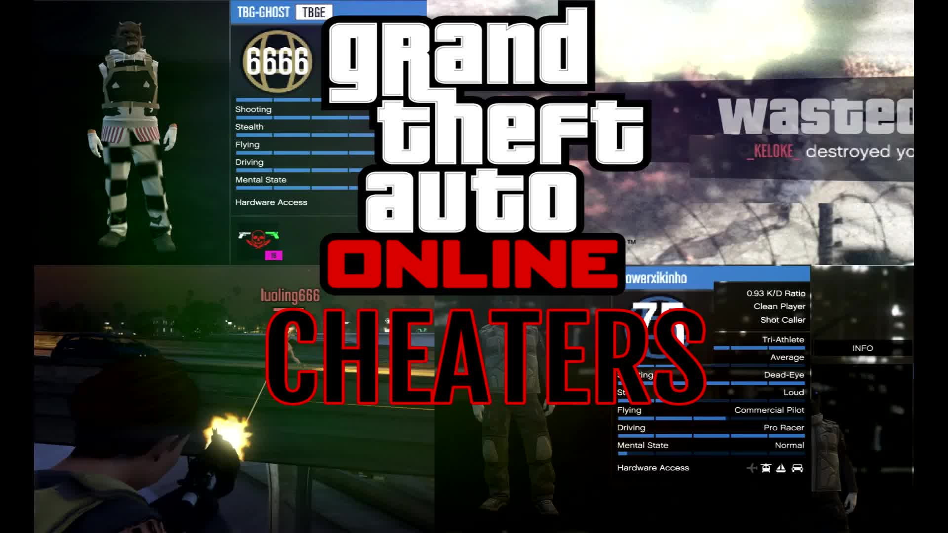 Gaming, cheaters, donald trump, gtaonline, modded money, modding, w00f, GTA ONLINE CHEATERS GIFs