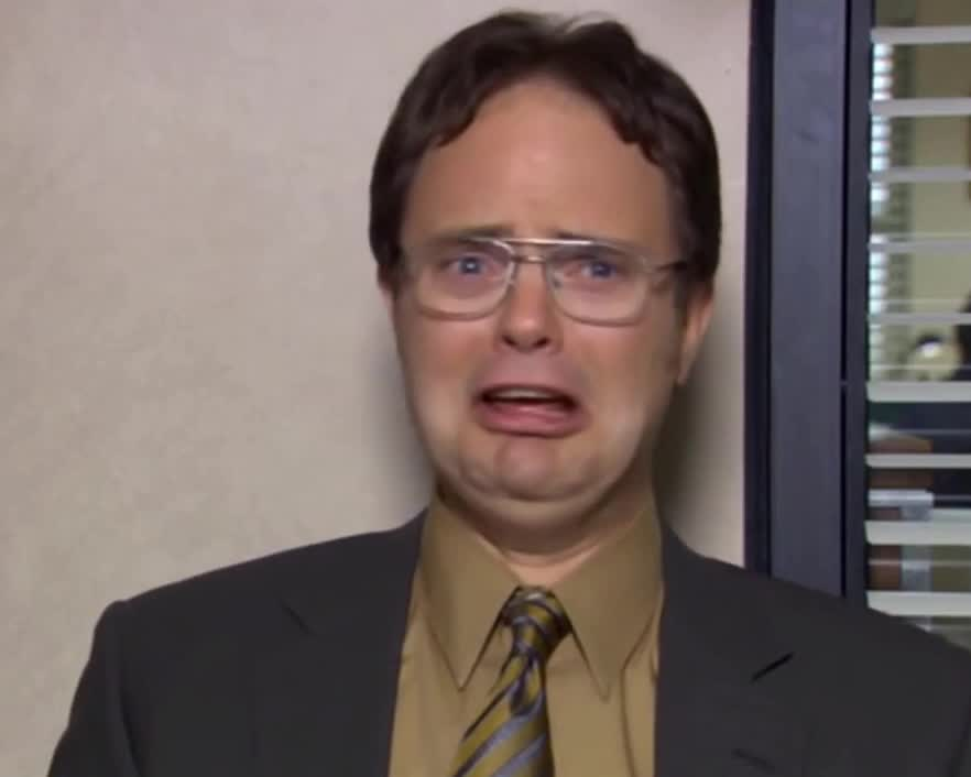 GIF Brewery, Rainn Wilson, boohoo, cry, crying, funny, office, The Office Funny Crying GIFs