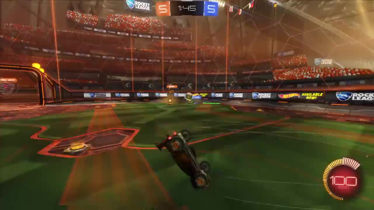 RocketLeague, ps4share, sony interactive entertainment, 1v4 pinch GIFs