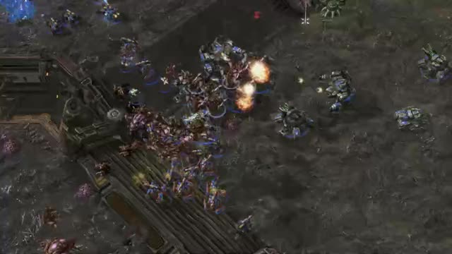 Watch and share Sc2replaystats Balance Map KOTH -- Scarlett Vs Masa GIFs by TheSkunk on Gfycat