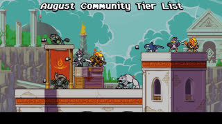 RESULTS August Community Tier List • r/RivalsOfAether GIFs
