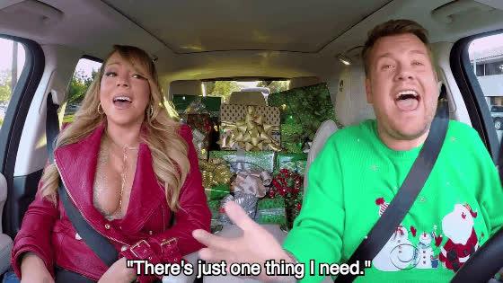 mariah carey, Mariah Carey Carpool KaraokeMore GIFs