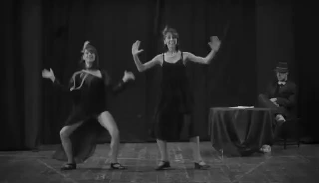 Watch and share 1920s - Charleston Dance GIFs on Gfycat