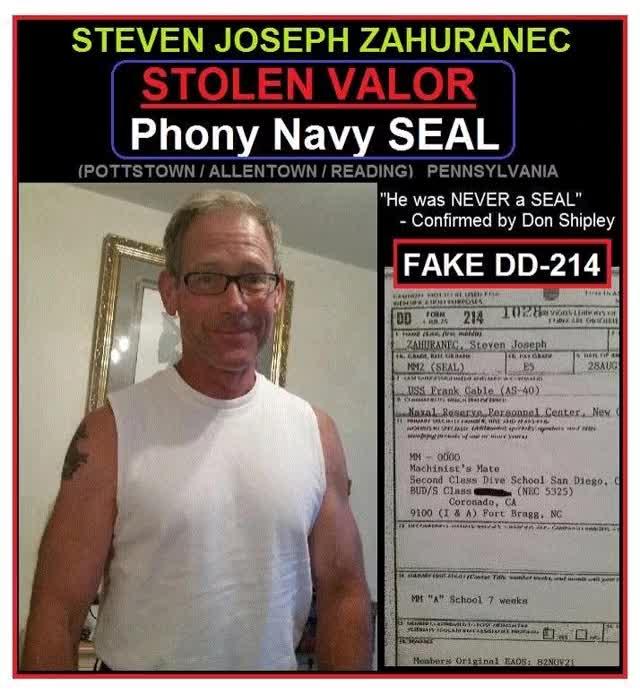 Watch and share Steve Zahuranec Stolen Valor Phony Seal GIF 2 GIFs on Gfycat
