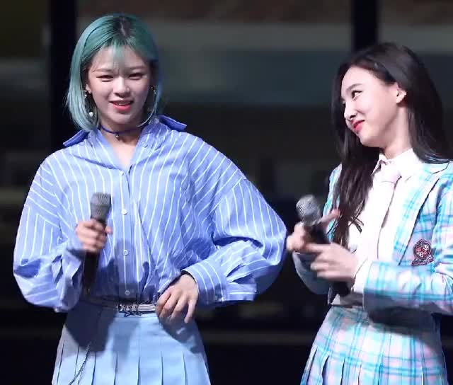 Watch and share Jeongyeon GIFs and Nayeon GIFs by 1001twice on Gfycat