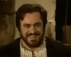 Watch Opera Gifs GIF on Gfycat. Discover more 1982, gif, giuseppe verdi, how does he put so many expressions in 3 seconds, i'm back, jean-pierre ponnelle, luciano pavarotti, opera, opera tag, rigoletto, victor hugo GIFs on Gfycat