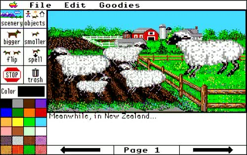Watch and share Storybook Weaver GIFs and Apple Ii Gs GIFs on Gfycat